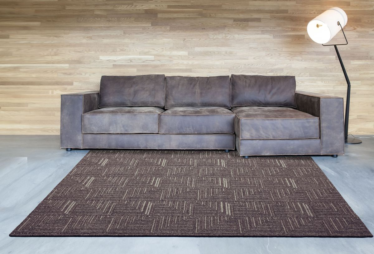 909 POLAR 703 40 EBONY SUGAR RUG ROOM